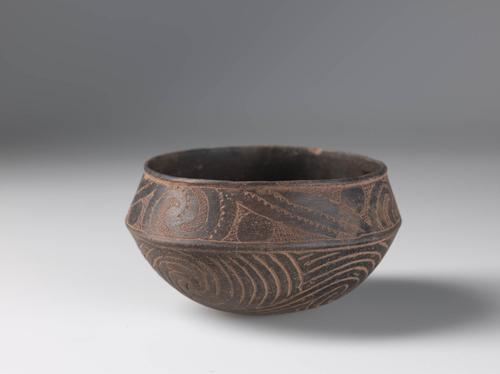 Engraved and incised bowl