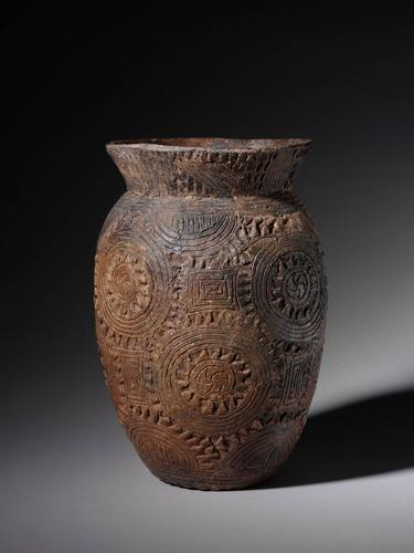 Haley Complicated Incised jar